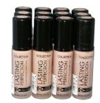 12 x Collection Lasting Perfection Foundation | Up to 16hr wear | RRP £72 |